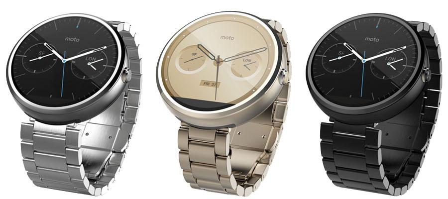The Moto 360 In Metal Version Arrives in Spain