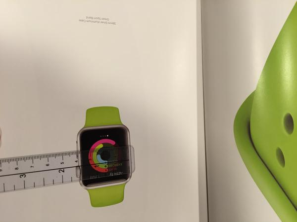 The Vogue Magazine Show the Apple Watch on Different Pages