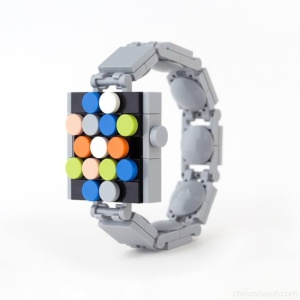 Create Your Own Apple Watch from Lego