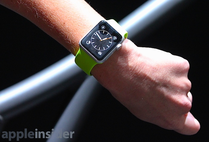 Apple Added New Watchfaces for Apple Watch, Future Upgrades