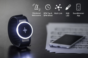 Soundbrenner Pulse: intelligent Watch for Musicians.
