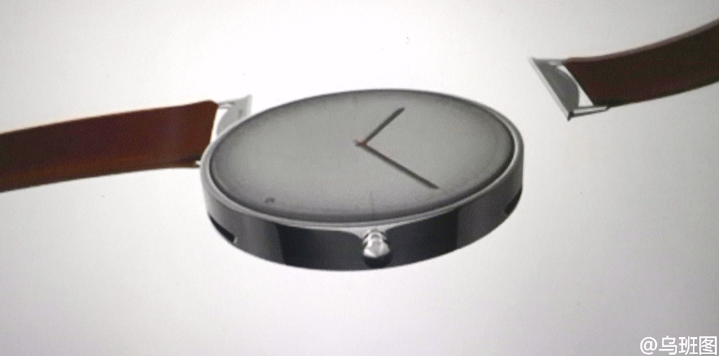 The First Image of the Second Generation Moto 360 Leaked on Weibo