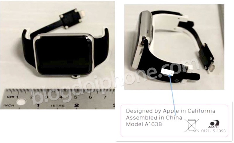 First Look: Reserve Strap Apple Watch Through Its 6-pin Port