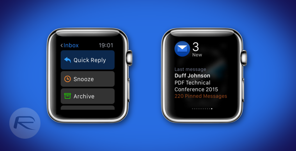 Spark is a Great Email Client for Apple Watch