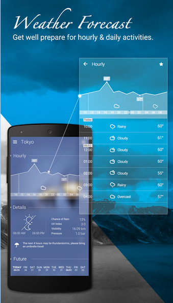 go weather forecast app