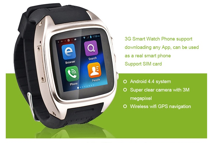 ORDRO SW16 3G Smartwatch Phone 1