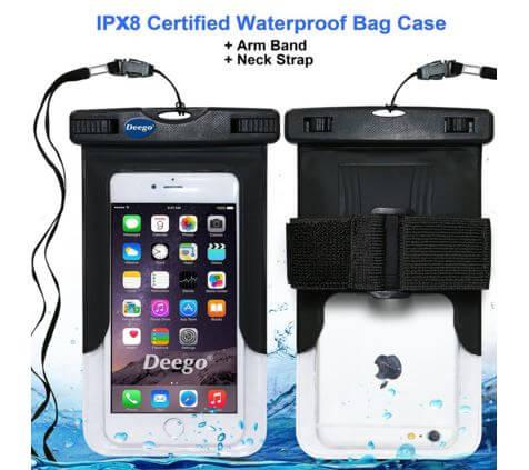 Deego Universal Waterproof Armband Snowproof Case
