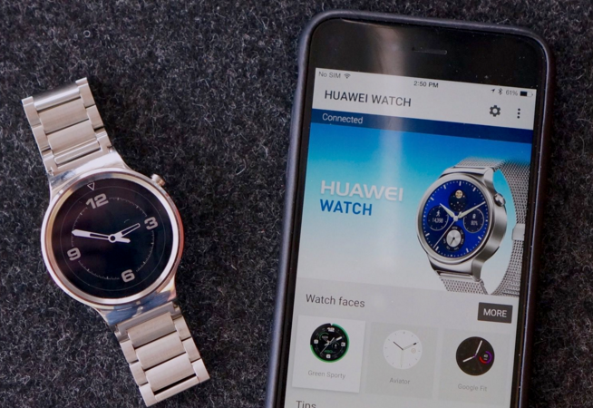 Huawei Watch iPhone