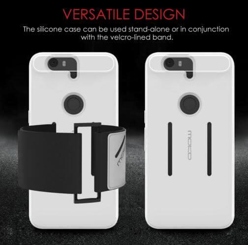 MoKo Silicone Armband for the Nexus 6P