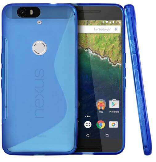 Crystal Silicone Protective for nexus 6p
