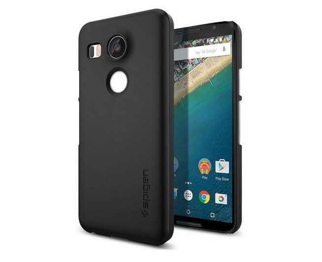 Spigen Thin Fit Nexus 5X Case