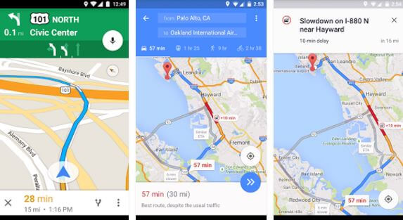Best Free GPS App For Android Smartphone Roonby - Is google maps app free