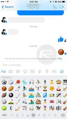 You Can Play Basketball in In Facebook Messenger 3