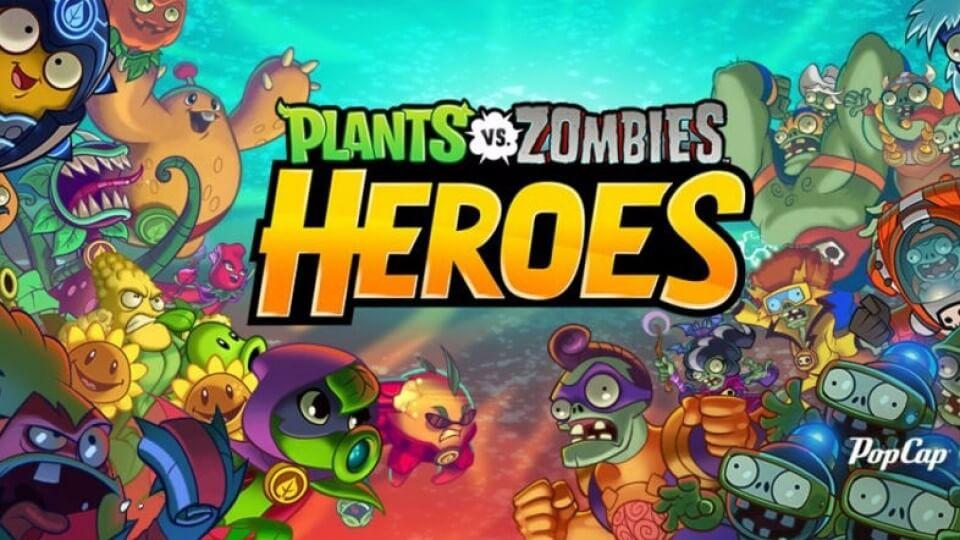 plant vs zombie heroes