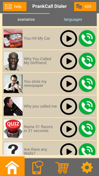 Prank Call Celebrities - Android app on AppBrain