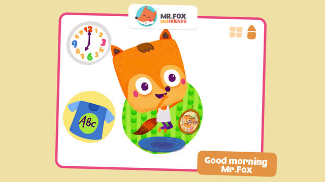 Math Apps For iPhone Whats time Mr Fox