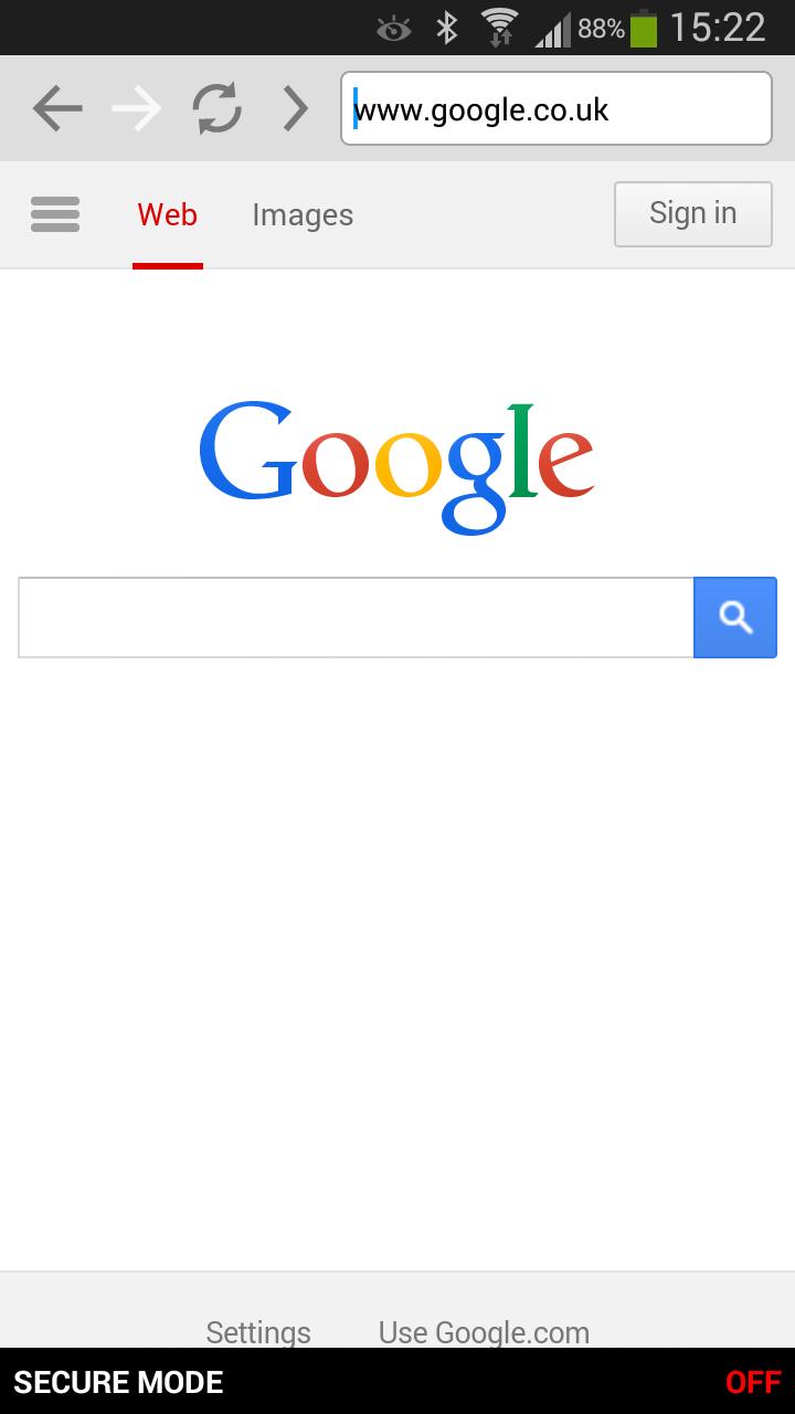 Proxy web browser apk