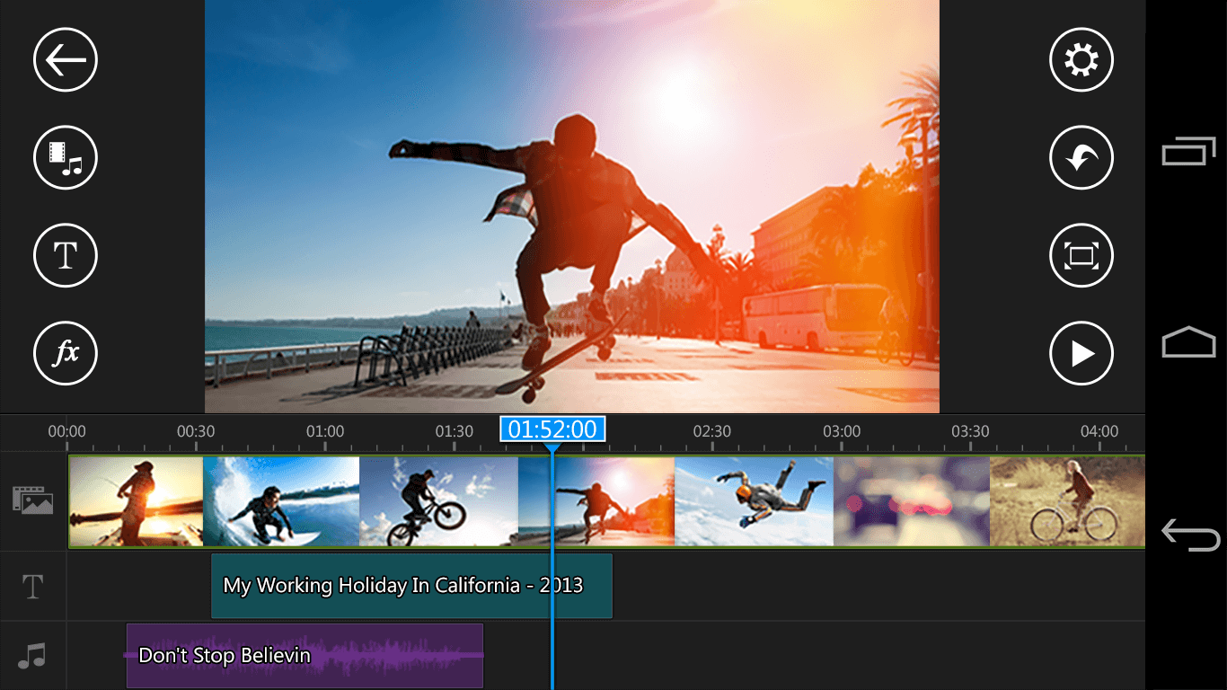 iMovie App for Android - Power Editor