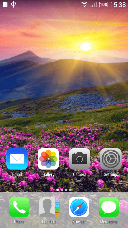 iPhone Theme for Android - i launcher