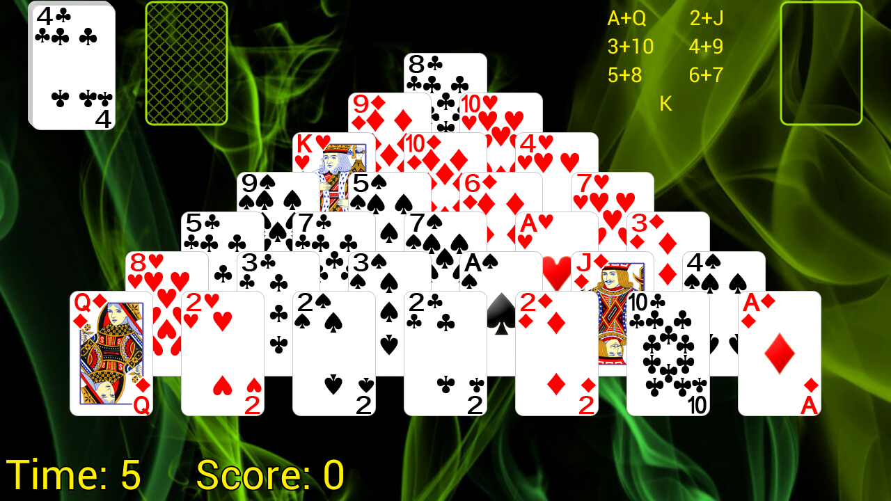 best-solitaire-app-for-android-pyramid-solitaire
