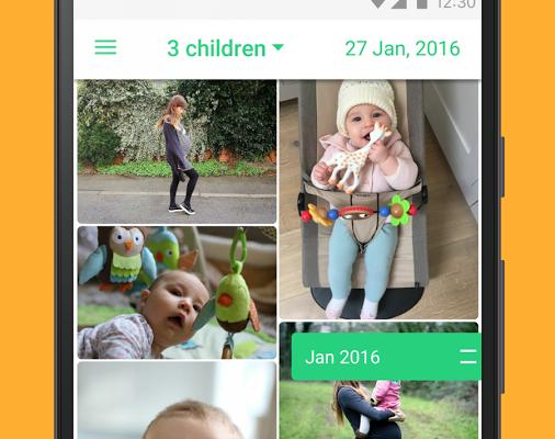 lifecake-baby-photo-timeline