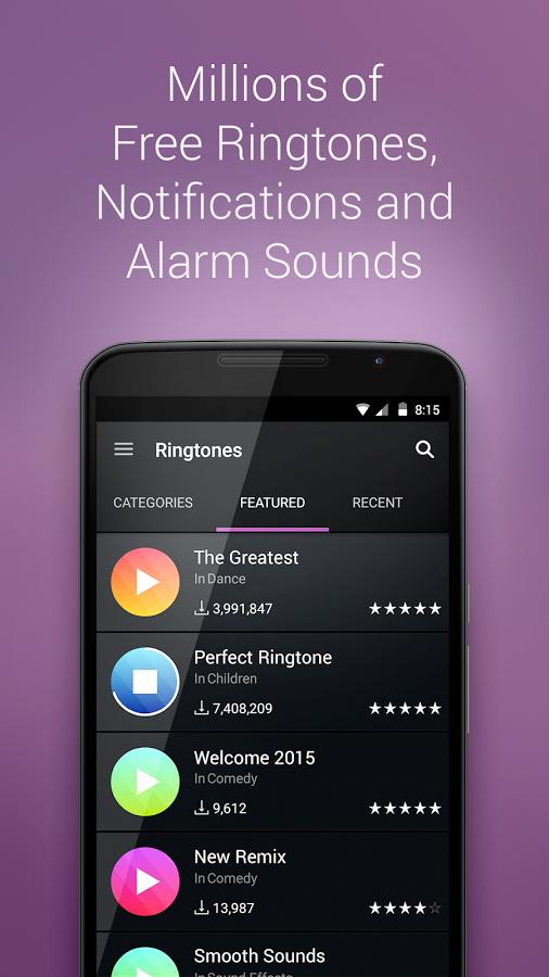 Top 3 Free Ringtones For Androids Make Get Unique Ringtone Easily