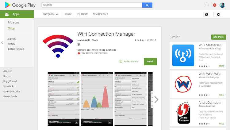 wifi-connection-manager