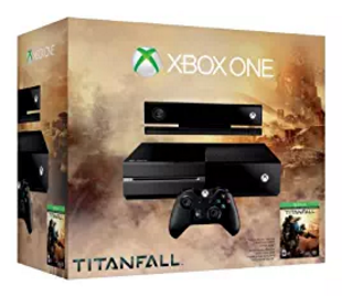 Microsoft Xbox One Console - Titanfall + Kinect