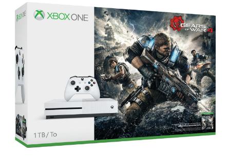Microsoft Xbox One S 1TB Console - Gears of War 4 Bundle