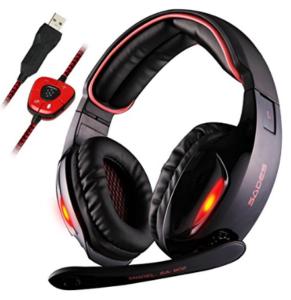 Sades SA902 7.1 Channel Virtual USB Surround Stereo Gaming Headset