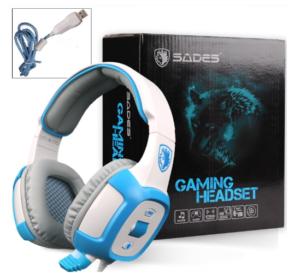 Sades SA906 7.1 Surround Stereo Gaming Headsets
