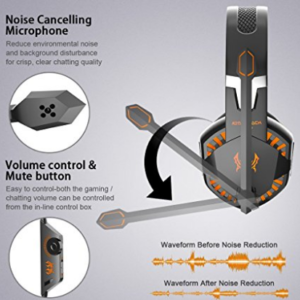 VersionTech G2000 Gaming Headset for PC Computer Games image 2