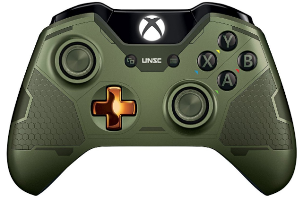 Microsoft Limited Edition Halo 5: Guardians Master Chief Wireless Controller