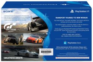 Sony PlayStation VR - GT Sport Bundle [Discontinued] image 1