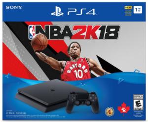 Sony Playstation 4 1TB Slim - NBA 2K18 Bundle Edition
