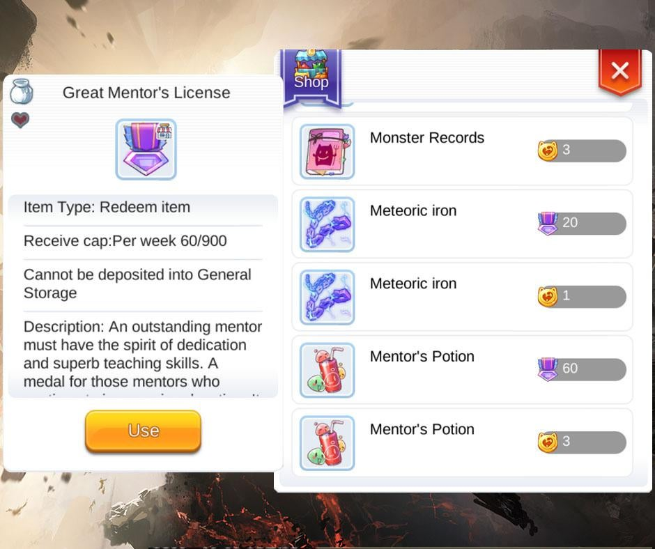 Easy Mentor Badge Ragnarok Mobile